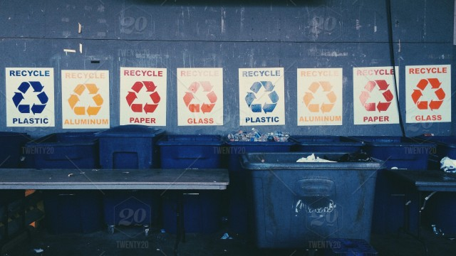 a simple list of what you can and can't recycle